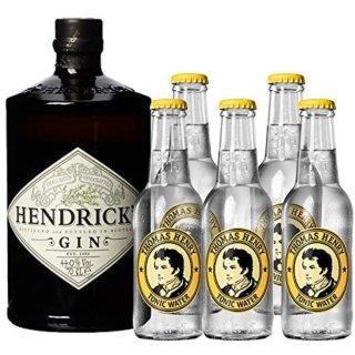 Hendrick´s Gin1x0,7l + ThomasHenryTonic5 x0,2l