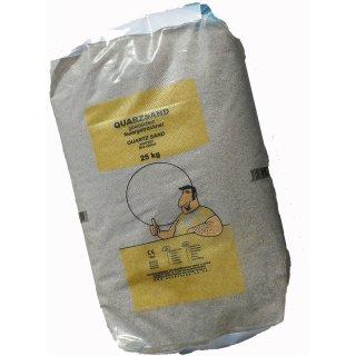 Quarzsand Filtersand 0,70-1,25 mm 1x25Kg