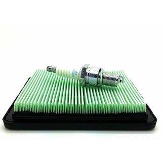 NGK Plug &Luftfilter Honda IZY Service Kit für Benzin Rasenmäher und HRG415 HRG465