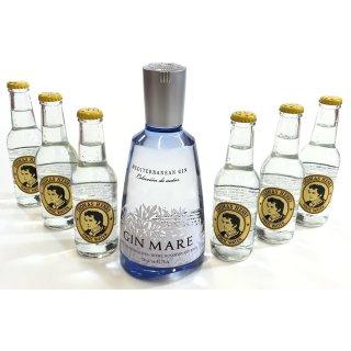 Gin Mare 0,7l + 6x0,2l Thomas Hennry