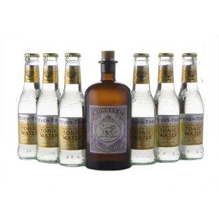 Monkey 47 Gin 1x0,5l + Fever Tree Premium Indian 6x0,2l