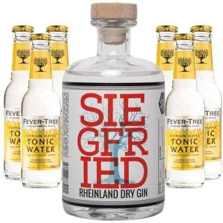 Siegfried Rheinland Dry Gin 1x0,5l + Fever-Tree 6x0,2l