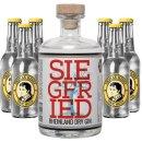Siegfried Rheinland Dry Gin 1x0,5l + Thomas Henry 6x0,2l