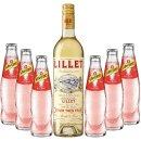 Lillet Blanc 1x,075 + Schweppes Russian Wild Berry 6x0,2l