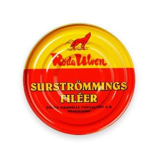 Röda Ulven Surströmming Filets - fermentierte Heringfilets 1x300g