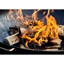 Brennholz  für Kaminofen, Ofen, Lagerfeuer, Feuerschalen 30kg (25 cm Holzscheite)