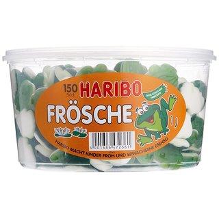 Haribo Frösche 3x1050g (Dose)