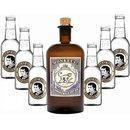 Monkey 47 Schwarzwald Dry Gin 1x0,5l & Thomas Henry...