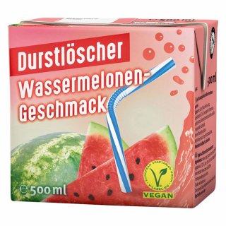 WeserGold - Durstlöscher Wassermelone 48x0,5l Trinkpäckchen