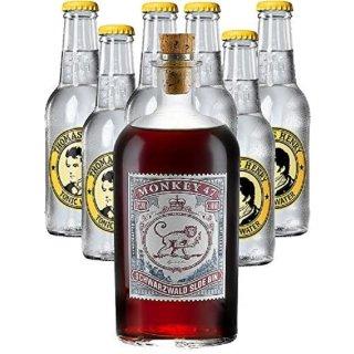 Monkey47Schwarzwald SloeGin1x0,5l + Thomas Henry Tonic Water 6x0,2l