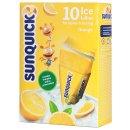 Sunquick - Wassereis zum Selbsteinfrieren Orange 10x60ml