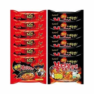 Samyang Fire Noodle Set 12er Pack