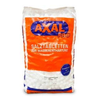 Axal Pro Regeneriersalz Tabletten 25kg Sack