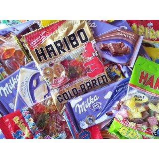 Überraschungspaket 3kg Haribo + 1kg Milka = 4kg
