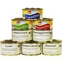 8er Set Wurstkonserven/Fleischkonserven, rd. 2,9 kg