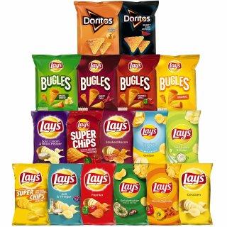 Lays Snacks Box 17er Pack