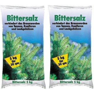 Bittersalz Magnesiumdünger für Koniferen, Tannen ect. 2x5kg
