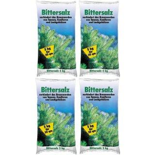 Bittersalz Magnesiumdünger für Koniferen, Tannen ect. 4x5kg
