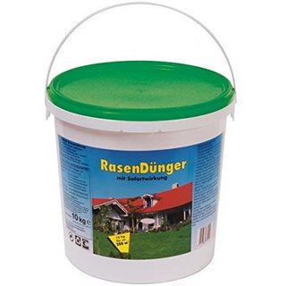 Rasendünger mit Sofortwirkung 10kg Eimer