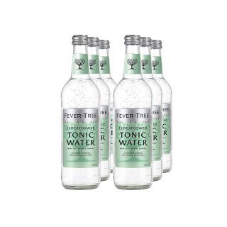 Fever Tree Elderflower Tonic Water 6x0,5l