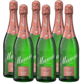 Mumm Rosé Dry Jahrgangssekt trocken 6x0,75l