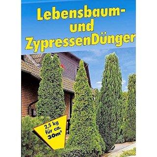 Lebensbaum & Zypressen Dünger 3x2,5kg