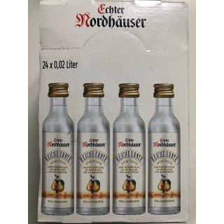 Nordhäuser Minis Williamsbirne 24x0,02l