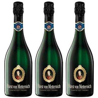 Fürst von Metternich Riesling Sekt Trocken 3x0,75l