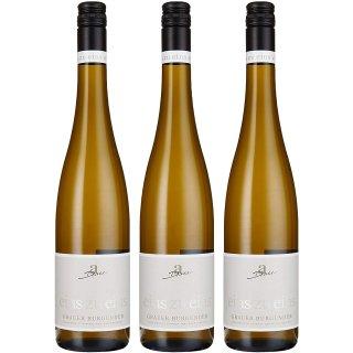 """Weingut Diehl Grauer Burgunder """"eins zu eins"""" Kabinett trocken 3x0,75l"""