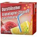 WeserGold - Durstlöscher Granatapfel-Zitrone 12x0,5l...