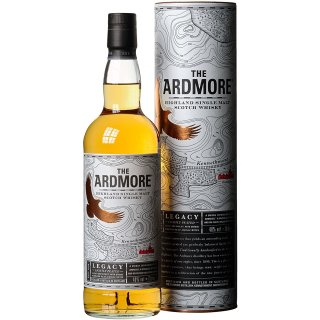 The Ardmore Legacy Highland Single Malt Scotch Whisky 1x0,7l (inklusive Geschenkverpackung)
