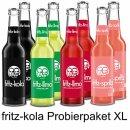 Fritz-kola Probierpaket 8x330ml