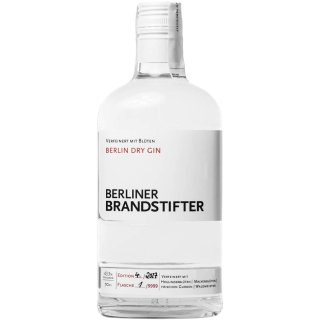 Berliner Brandstifter Dry Gin 1x0,7l