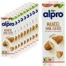 Alpro Mandeldrink ohne Zucker 10x1l