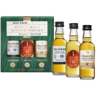 Single Malt Scotch Whisky Mix Discovery Collection 3x50ml